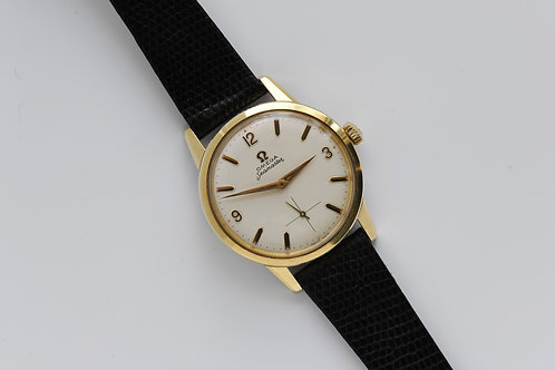 Omega Mens's Gold Capped 35mm 14389-3 Seamaster