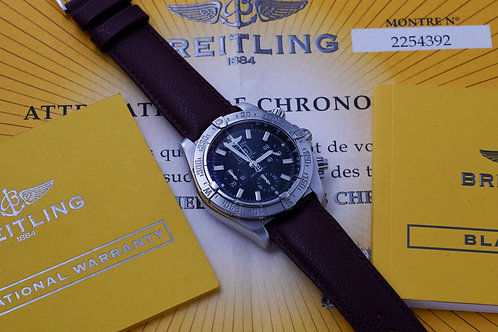 Breitling Blackbird A44359 with Papers