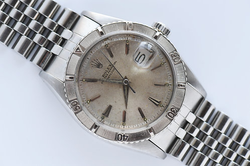 Rolex 6609 Datejust Turn-O-Graph 1956 Early 2 Line Dial
