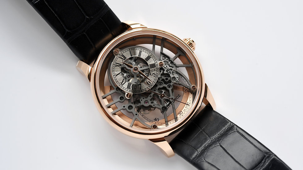 Jaquet-Droz Skelet One 2020 Box Papers