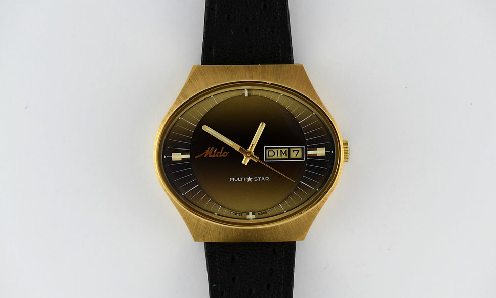 Mido Multi Star Automatic New Old Stock Whale Band