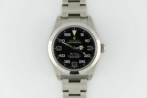 Rolex Air King Green 116900 40mm