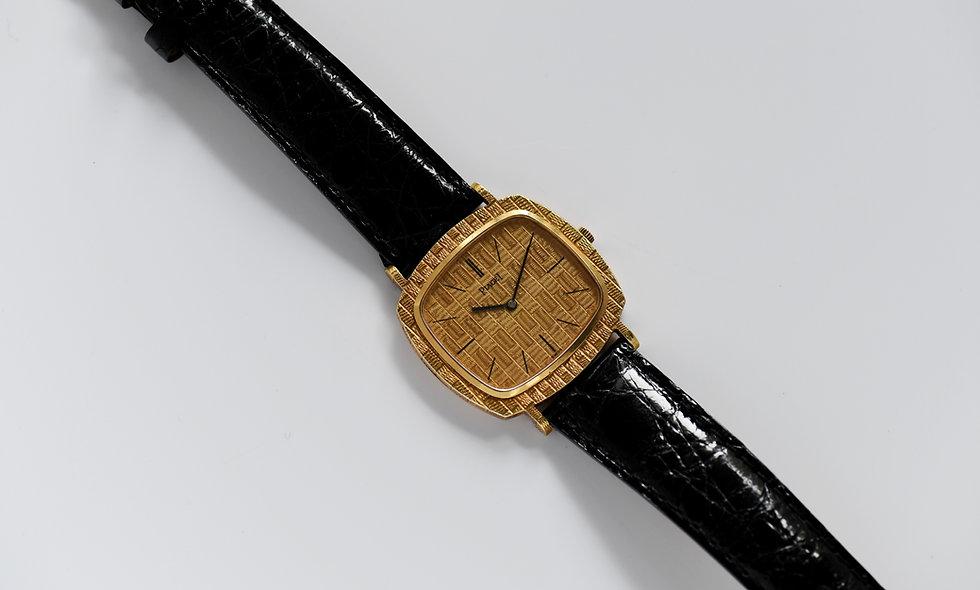 Piaget Unisex Ultra Thin 9433 Cal 9P1 18k Gold Textured Case