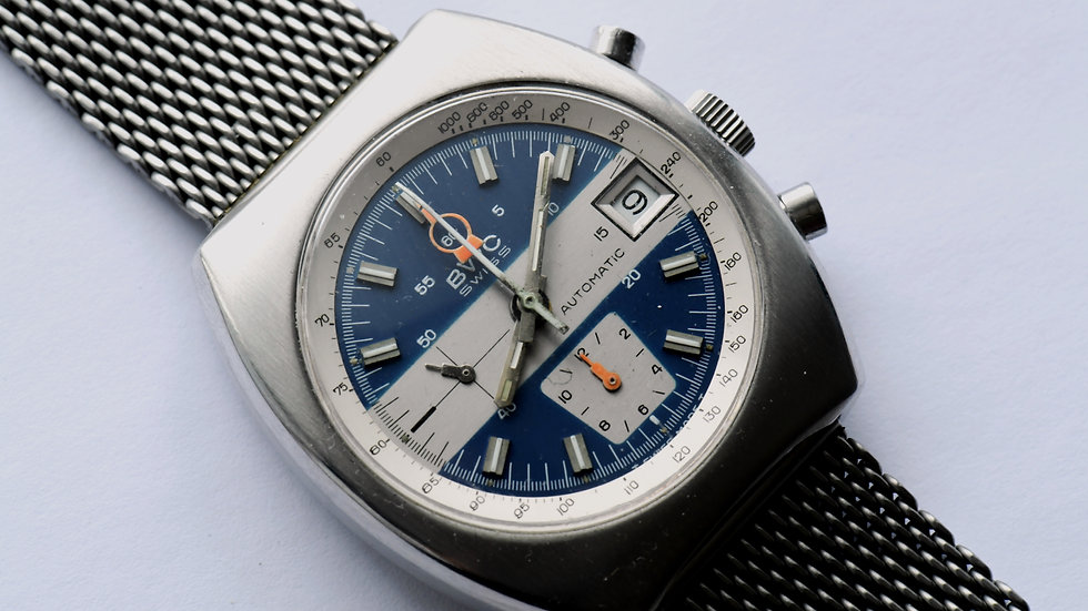 BWC Automatic Chronograph Lemania 1340