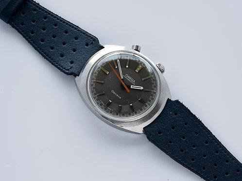 Omega Chronostop Driver Gray Dial 145.010 1968
