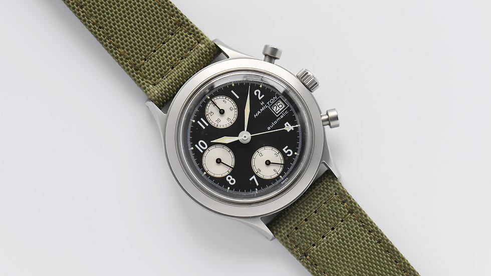 Hamilton 9941A Chronograph Automatic 7750 Matte Case