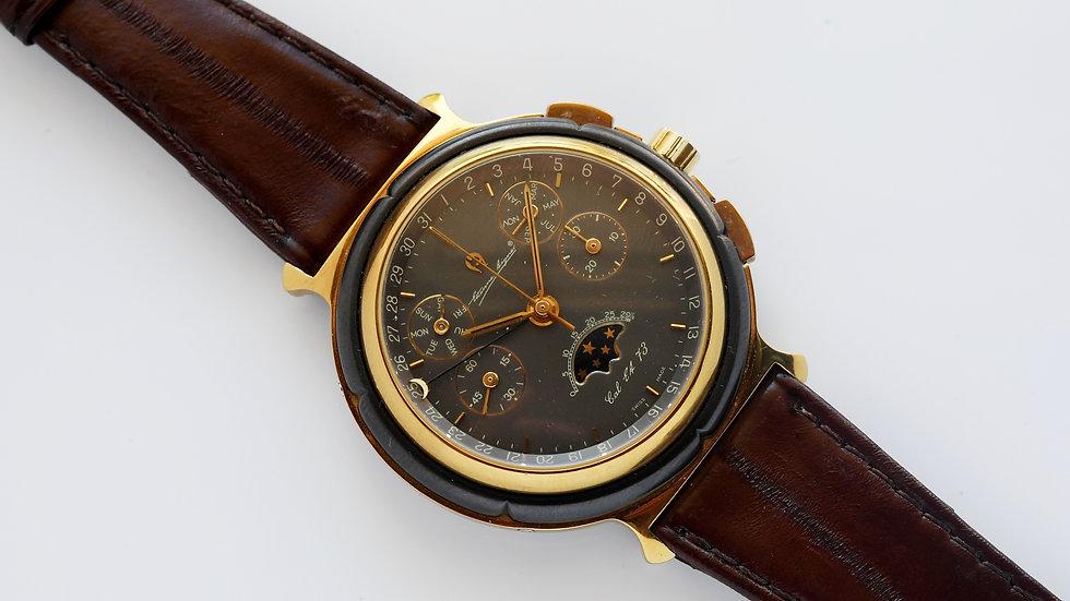 Etienne Aigner Triple Date Moonphase Chronograph