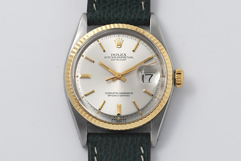 Rolex Datejust 1601 Pie Pan Sigma Dial with Original Papers