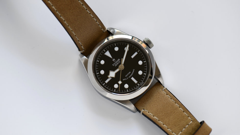 Tudor Black Bay 36mm 2019 Box Papers Bracelet Nato Leather Band