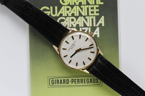 Girard Perregaux 14k Gold 32mm Blank Papers NOS