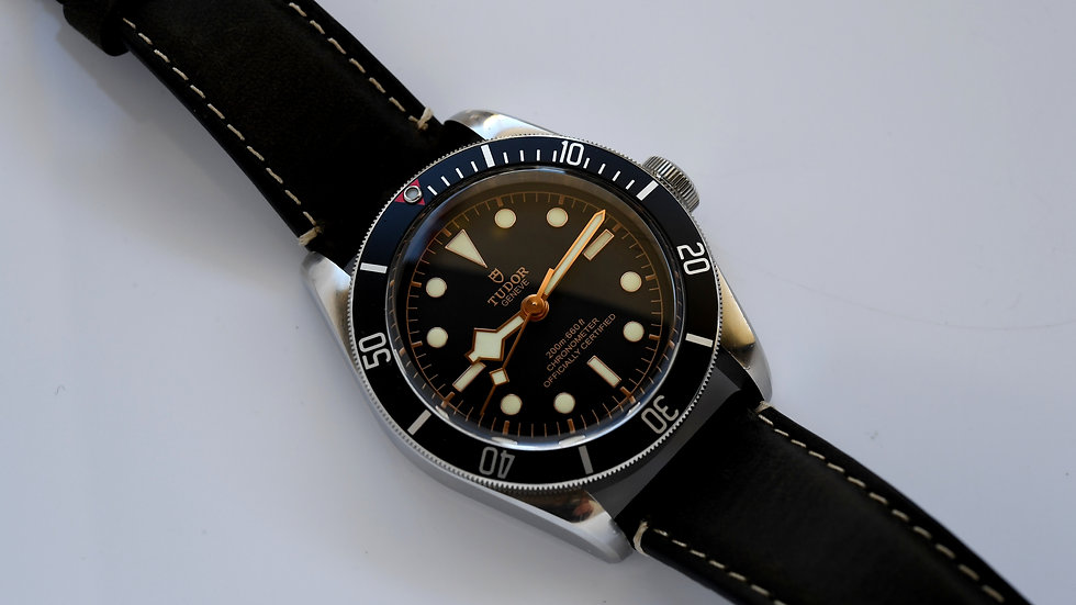 Tudor Black Bay 41 Diver 79230N Black Dial Full Set