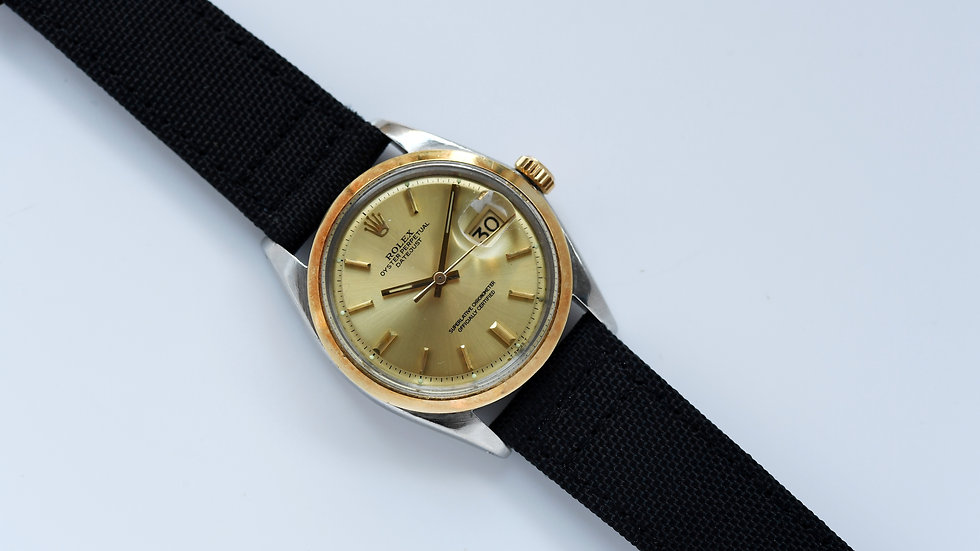 Rolex Datejust 1600 Piepan Dial Two Tone Cal 1570