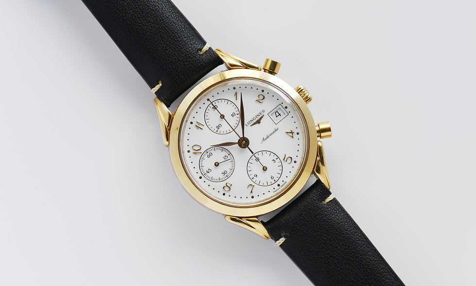 Longines L4.642.2 Classic Chronograph Gold Plated