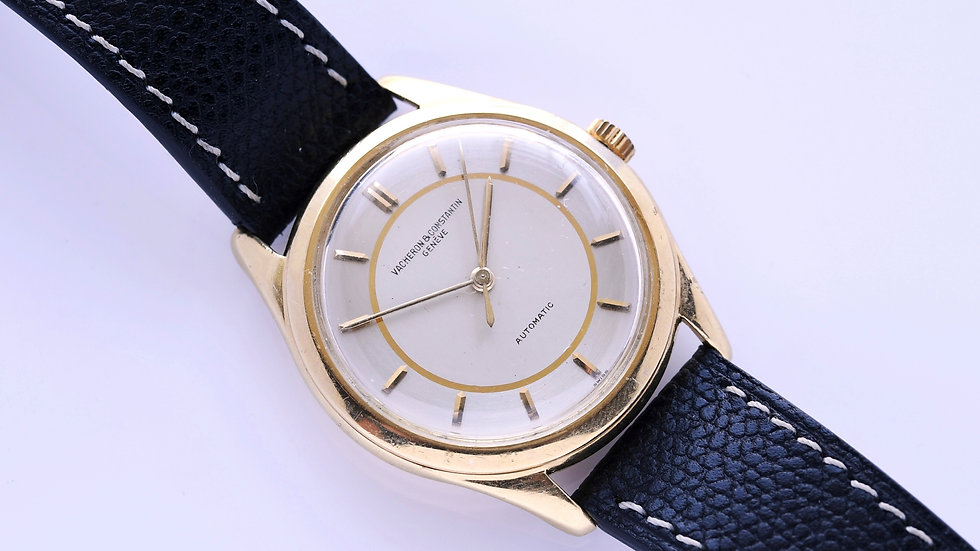 Vacheron Constantin 4870 Yellow Gold Two Tone Dial Serviced