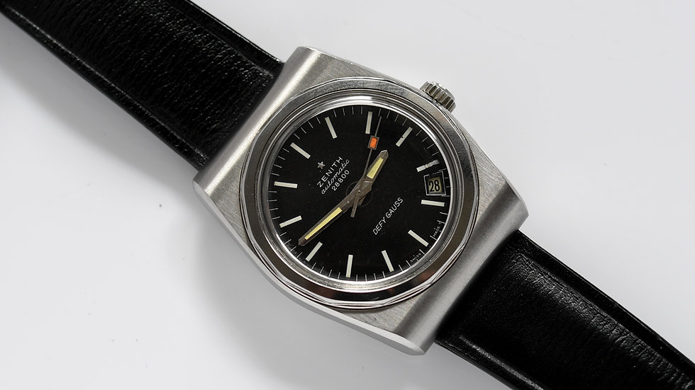 Zenith Automatic Vintage Defy Gauss Black Dial 28800