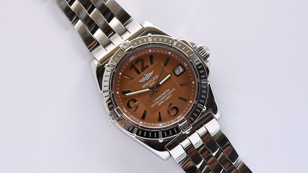 Breitling Callisto Ladies Orange Dial A77346