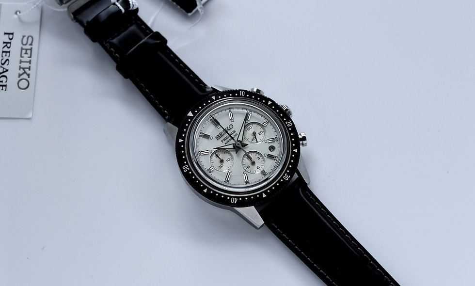Seiko Presage Anniversary Chronograph Limited SRQ031J1 Brand New 2020