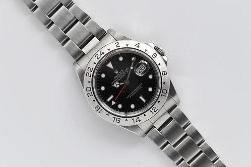 Rolex Explorer II 1995 Black Dial 16570
