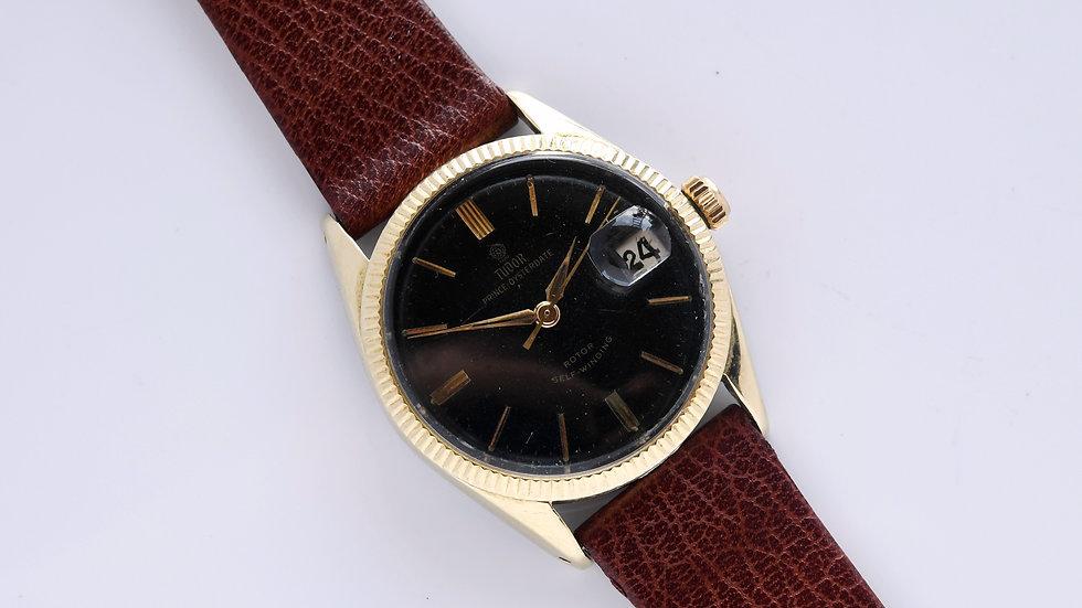 Tudor Prince Oysterdate 7964  34mm Glossy Gilt Dial