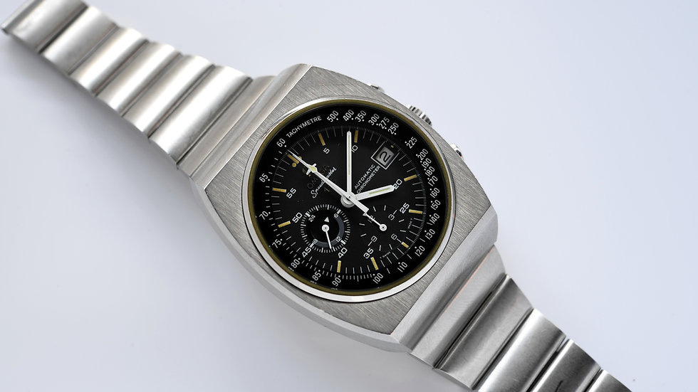 Omega Speedmaster 378.0801 125 1973 Unpolished Box Papers
