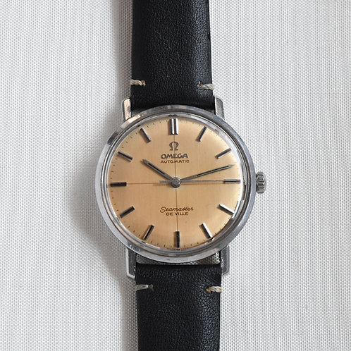 Omega Seamaster DeVille Crosshair Dial Copper Patina