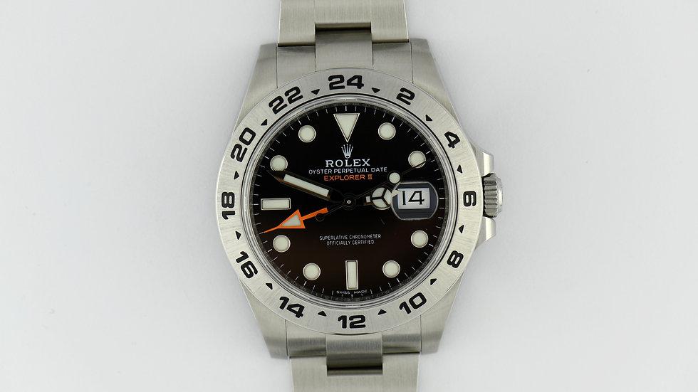 Rolex Explorer II 42mm 216570 Black Dial