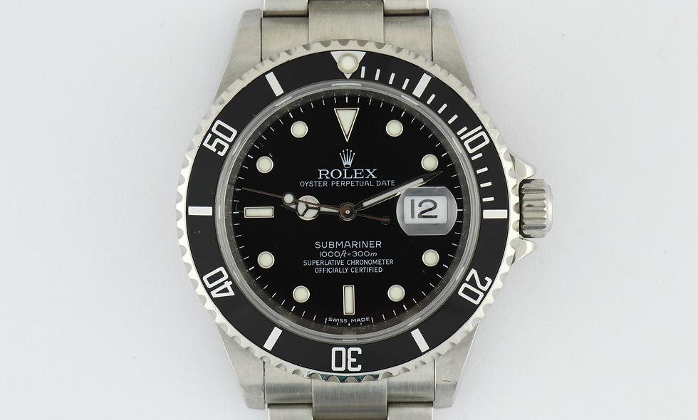 Rolex Submariner 16610 2006