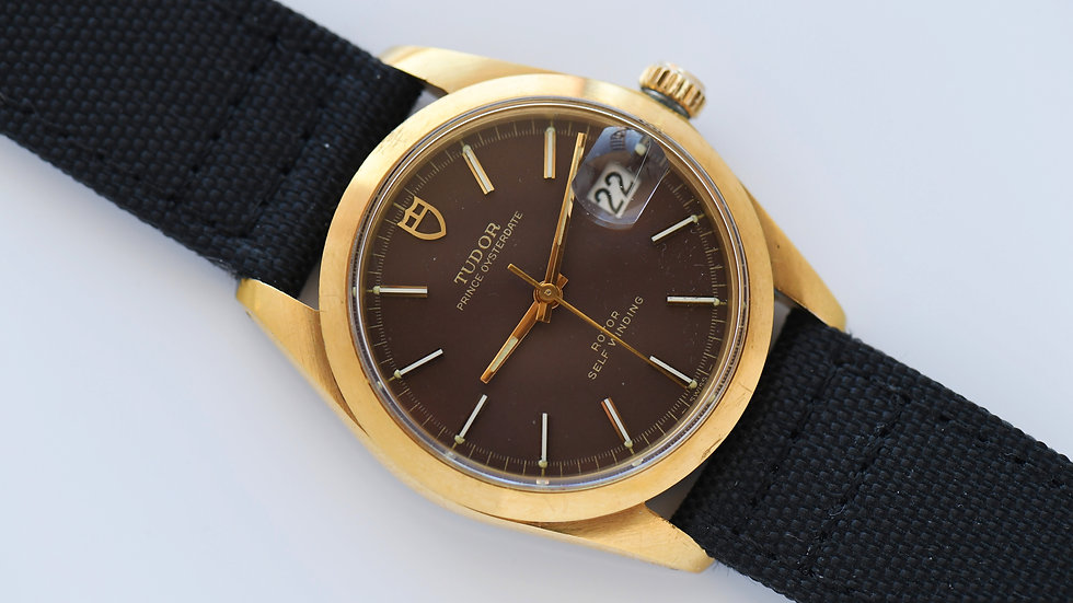 Tudor Oyster Prince Brown Dial Ref 9050