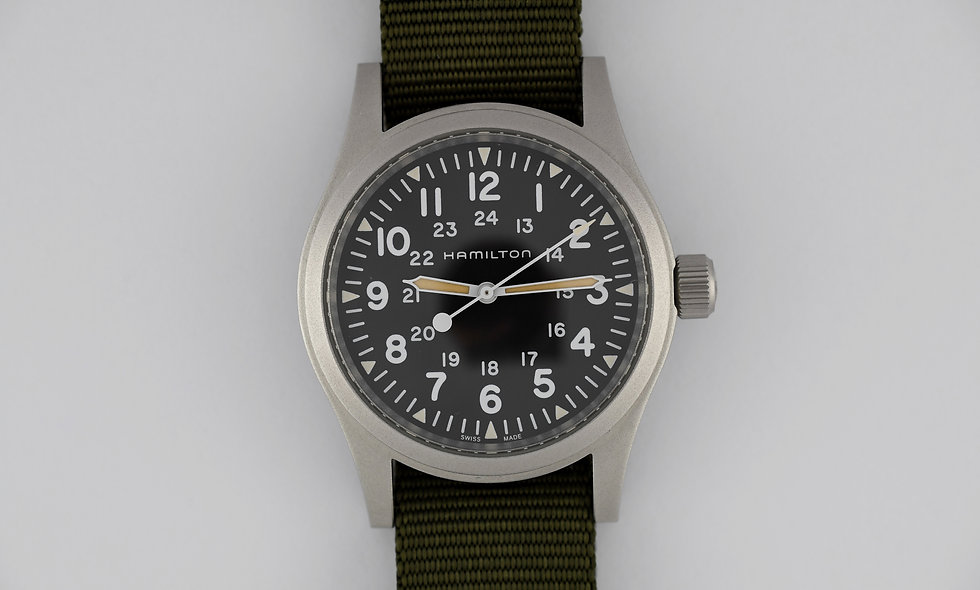 Hamilton Filed Khaki Mechanical 2018