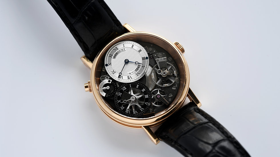 Breguet Tradition GMT 7067BR/G1/9W6 2018 Box Papers
