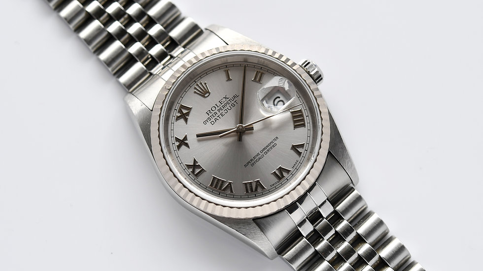 Rolex Datejust 16234 Silver Dial Unpolished