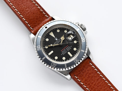 Rolex Submariner Red 1680 Mk4 Dial 1971 Unpolished