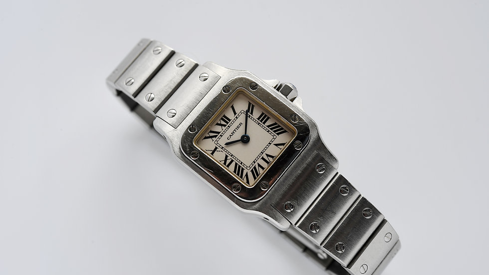 Ladies Cartier Santos Galbee 1565 23mm