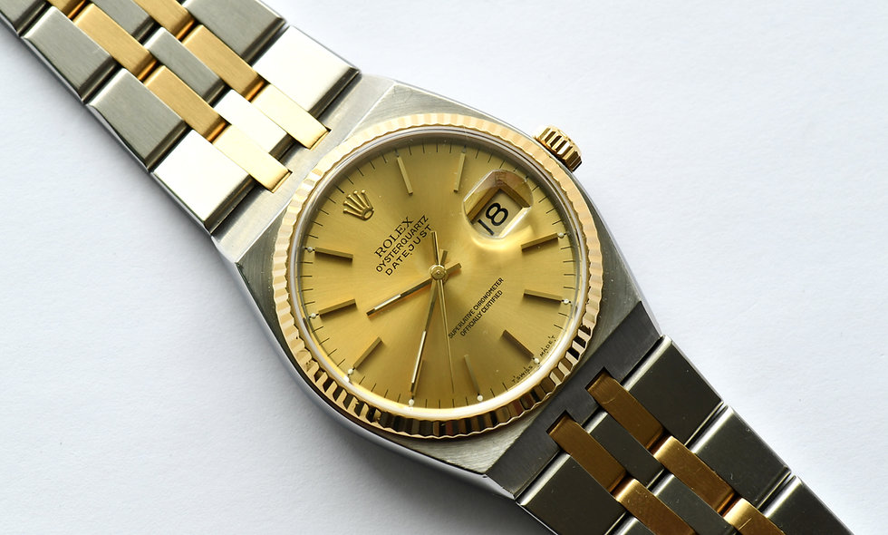 Rolex Datejust Oyster Quartz 17013A 1993 Box and Service Papers