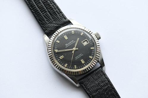 Bulova Oceanographer 333 Fluter Bezel Datejust Style