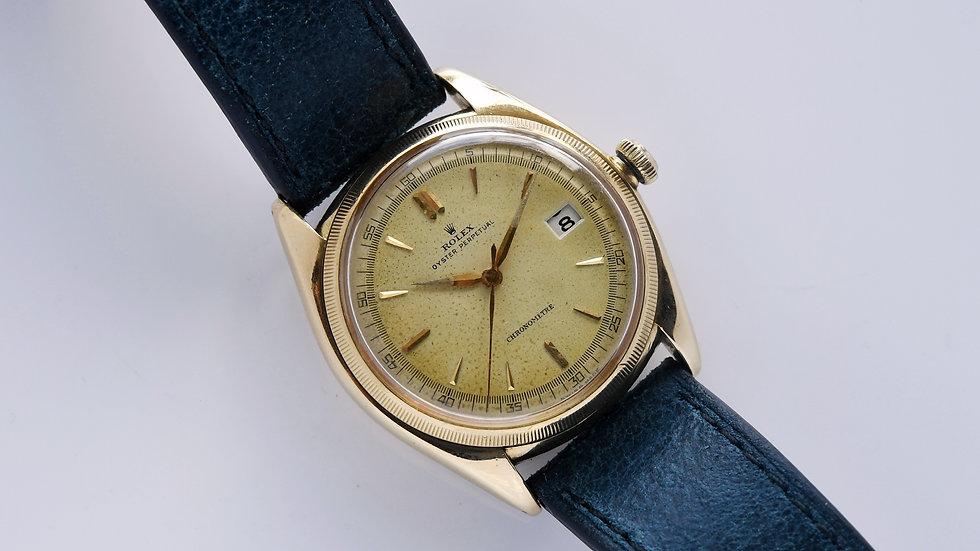 Rolex Datejust Ovettone 4467 1946 18k Gold