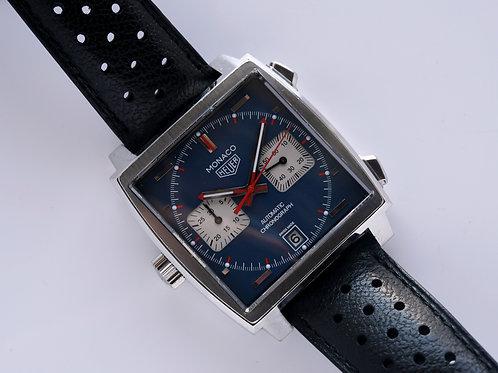 Tag Heuer Monaco Chronograph CAW211P Box Paper 2016