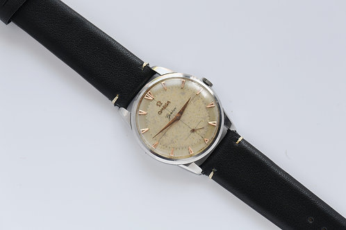 Omega Geneve Stainless Steel  Sector Dial 36mm 2748-7 1954 Serviced