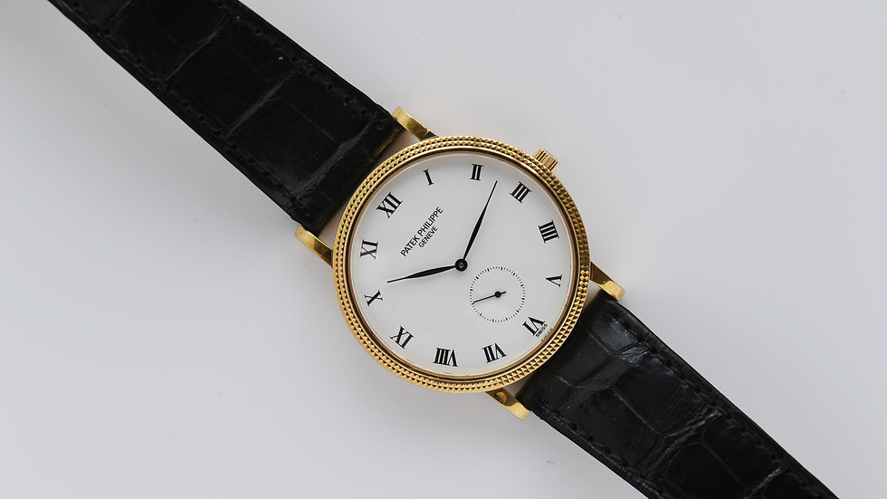 Patek Philippe Calatrava 3919 Yellow Gold 33mm 1994