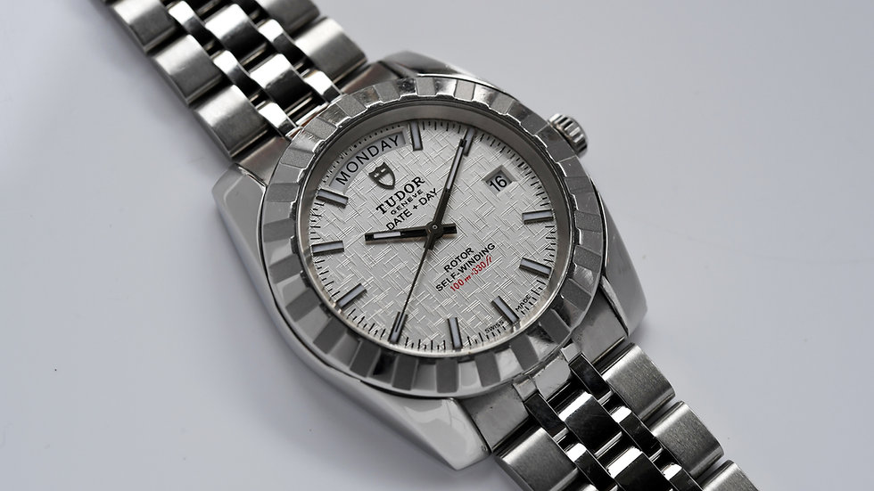 Tudor Classic Date + Day Ref 23010 Box Papers