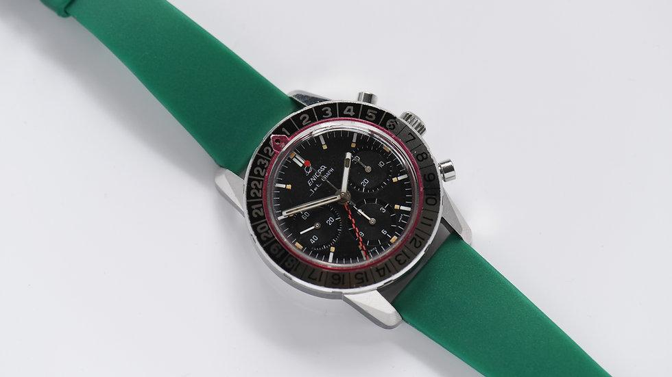 Enicar Jet Graph GMT Chronograph Valjoux 724 Serviced