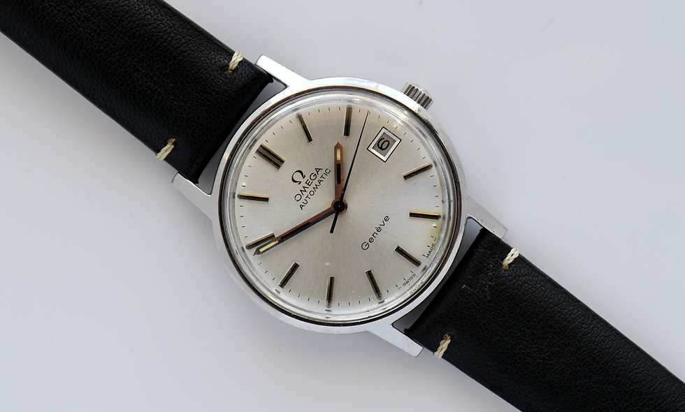 Omega Geneve Automatic Cal 1012 Stainless Steel  166.0163