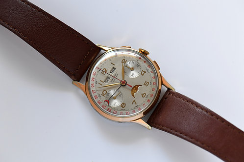 Alanbury Triple Date Chronograph Serviced