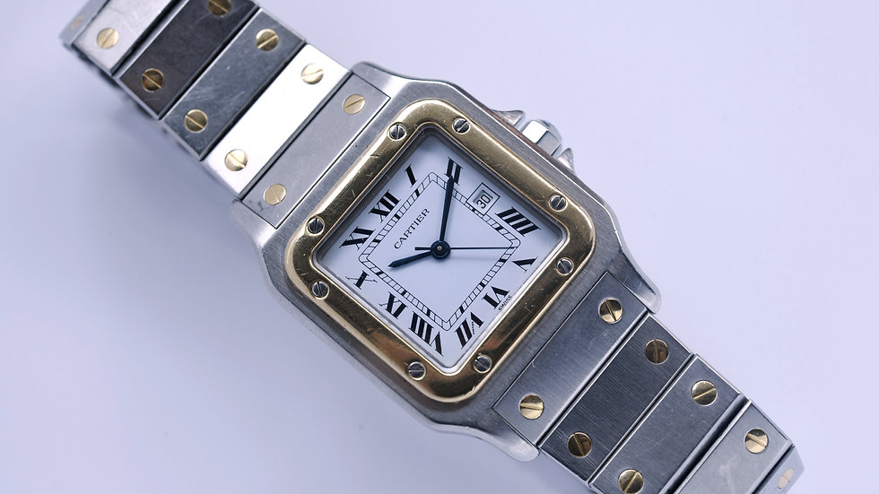 Cartier Santos Galbee 29mm Two Tone Automatic