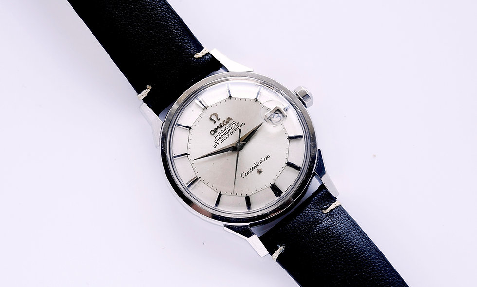 Omega Constellation Pie Pan Stainless Unpolished 1963 168.005