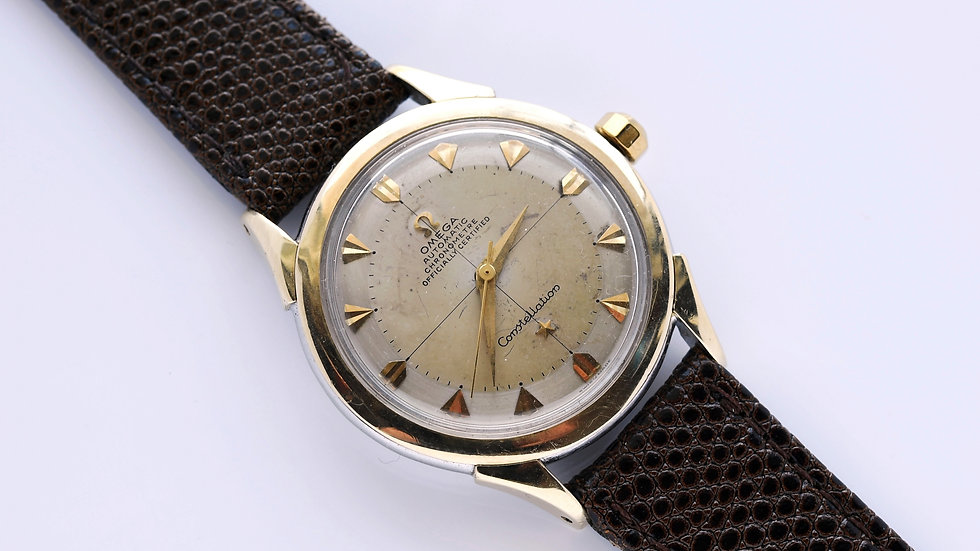Omega Constellation Bumper Automatic Gold Capped 1952 2782-5SC