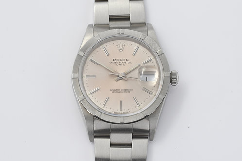 Rolex Date 15210 Capsule Condition Box Manuals 1991