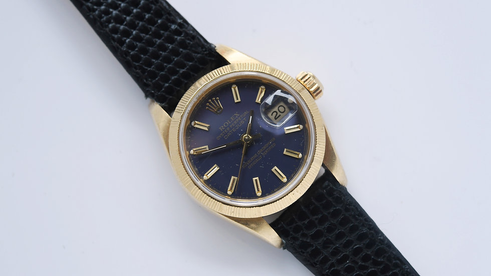 Rolex Ladies Datejust 69278 18k Gold 1986