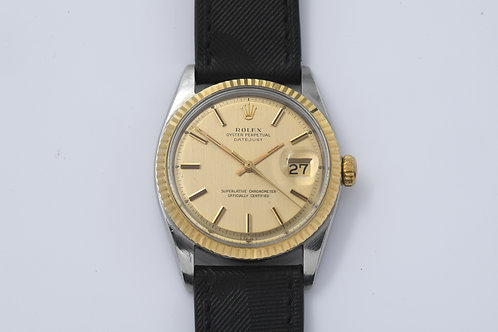Rolex Datejust 1601 Champagne Dial 1966 Unpolished