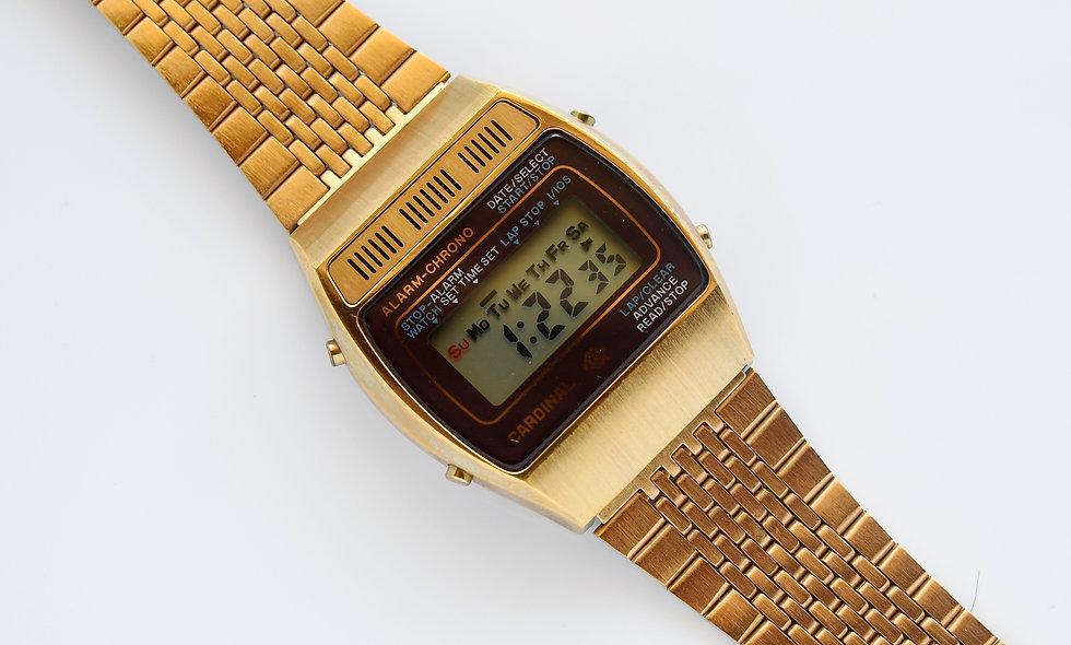Cardinal Alarm-Chrono Digital NOS Watch